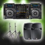 jvg sound dj advanced hire package