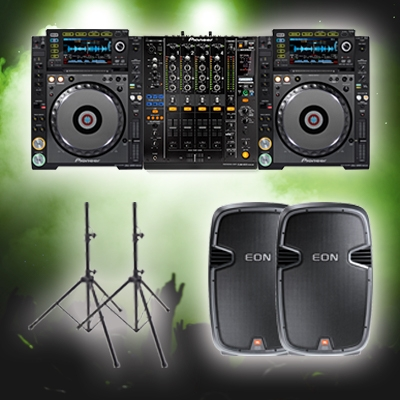 jvg sound dj advanced hire package