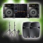jvg sound basic dj hire package